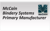 McCain Bindery Systems Primary Manufacturer